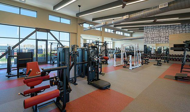 Extensive Fitness Facilities